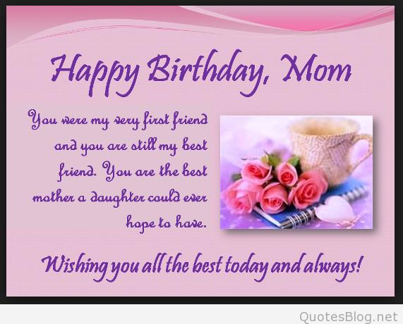 mother birthday card sayings ; happy-birthday-quotes-for-mom-from-son