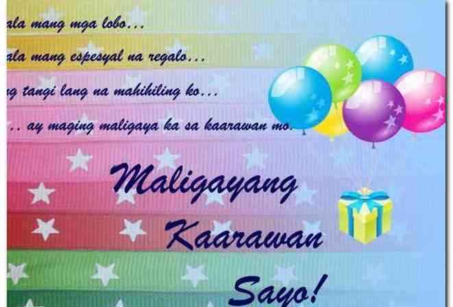 mother birthday message tagalog ; birthday-message-for-a-friend-tagalog