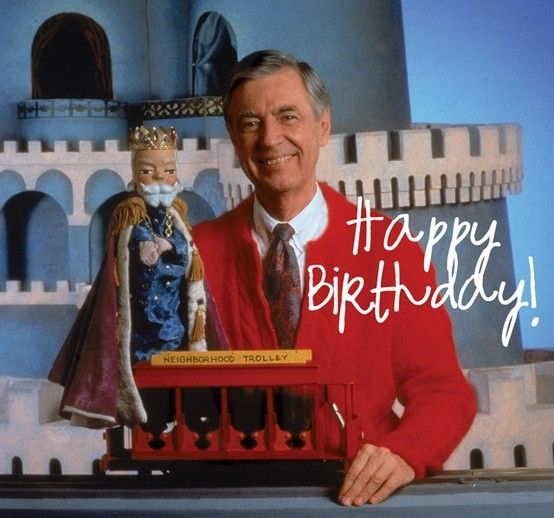 mr rogers birthday card ; 1fb0941123d7c03d5934794d434a322d