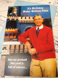 mr rogers birthday card ; mr-225x300