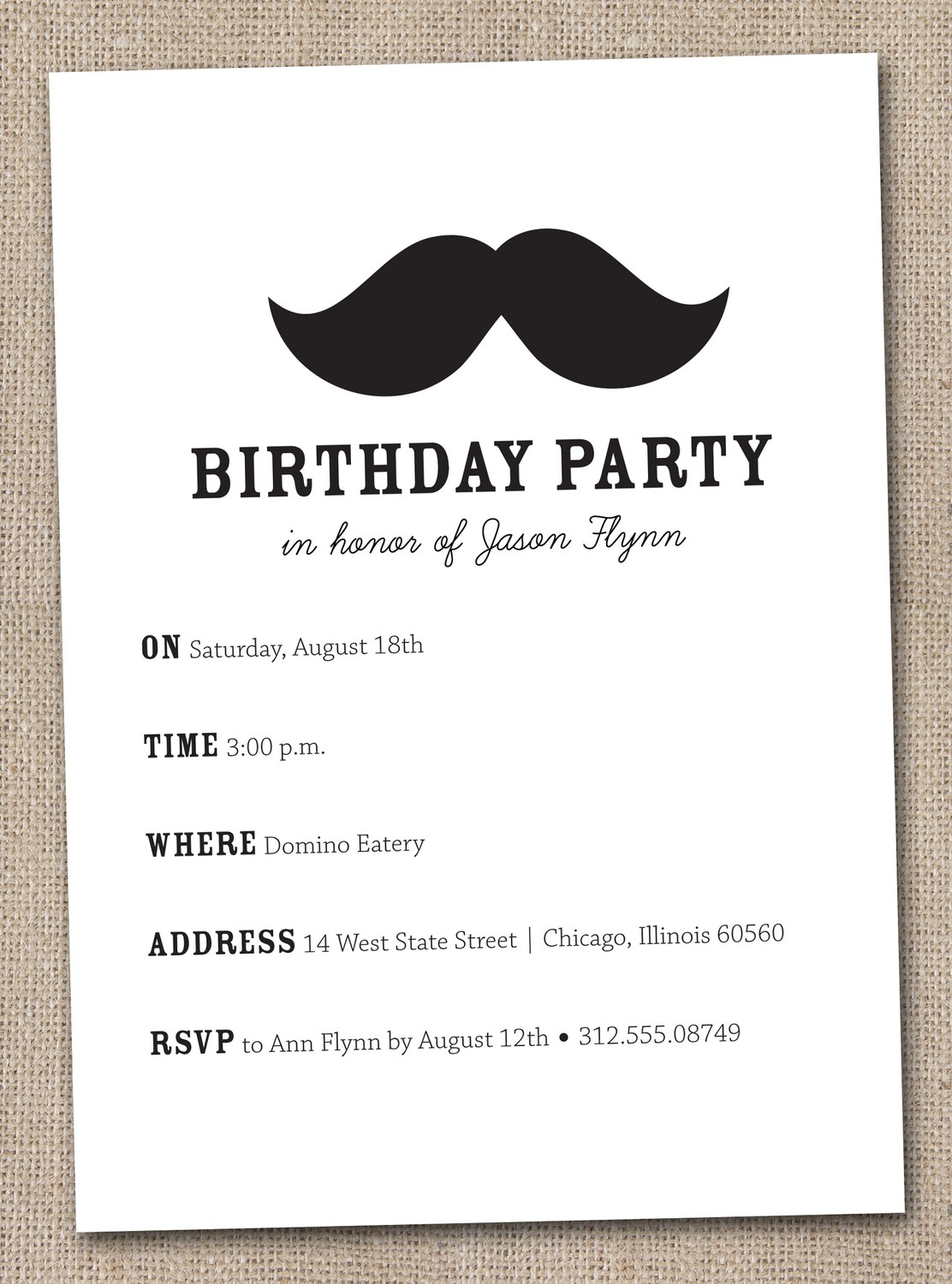 mustache birthday card printable ; mustache-birthday-invitations-completed-with-exceptional-appearance-in-your-Birthday-Invitation-Cards-invitation-card-design-10