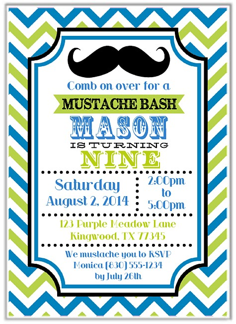 mustache birthday card printable ; mustache-birthday-party-invitations-make-your-graceful-Party-invitations-much-more-awesome-1