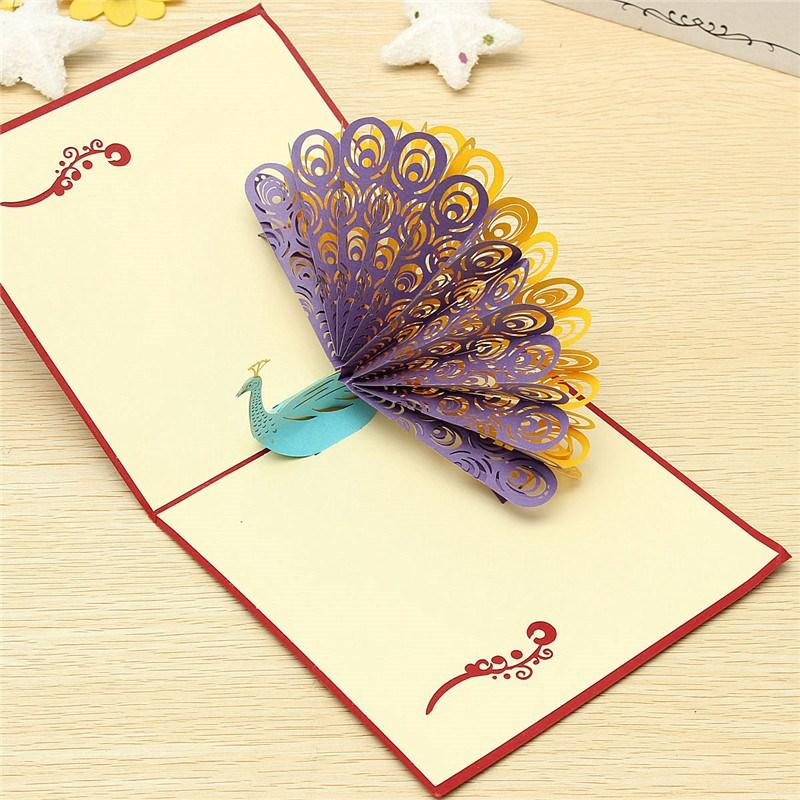 new birthday card designs ; best-greeting-card-design-new-arrival-fashion-design-3d-animals-peacock-pop-up-card-birthday-template