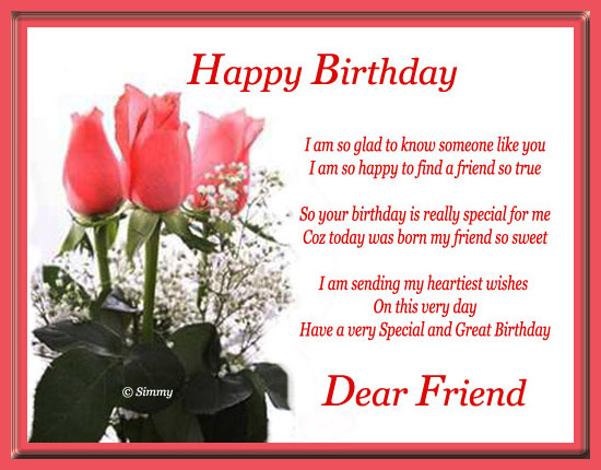 nice birthday message for a friend ; 305706