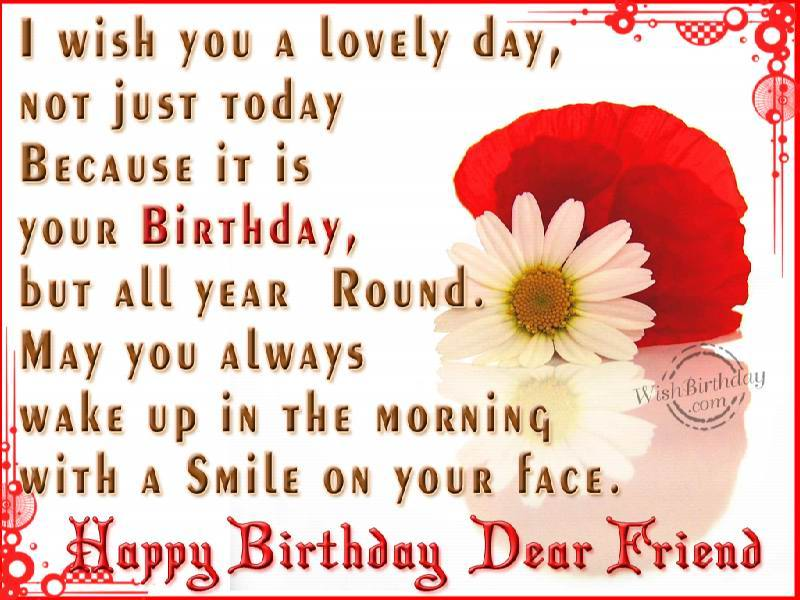 nice birthday message for a friend ; happy-birthday-wishes-for-friend-6