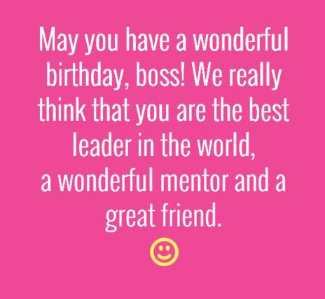 nice birthday message for boss ; Birthday-Wishes-for-Boss-quotes