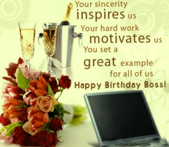 nice birthday message for boss ; b31