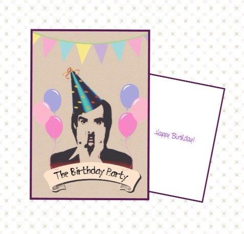nick cave birthday card ; 149dab479d0d36cba8c839202e63a7cf