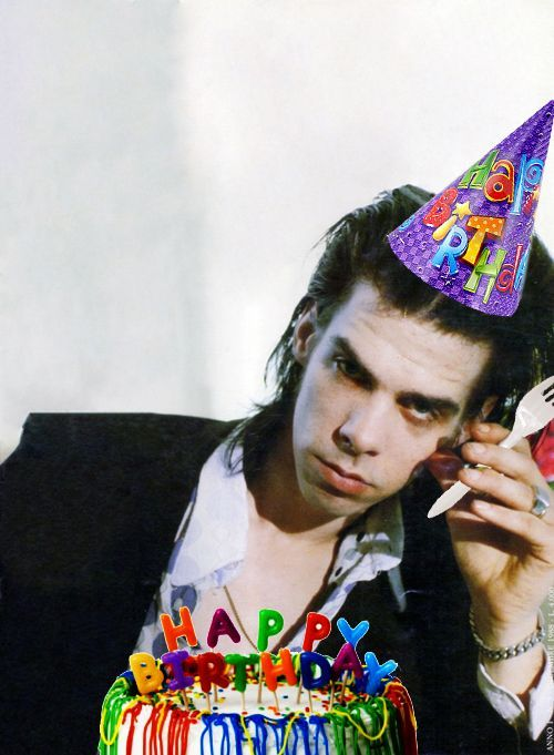 nick cave birthday card ; 2b9c1ab1a044b7209f49c3eeca0cd2ba