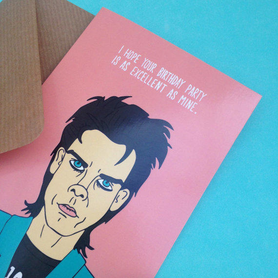 nick cave birthday card ; il-570xn-697261204-i7x7