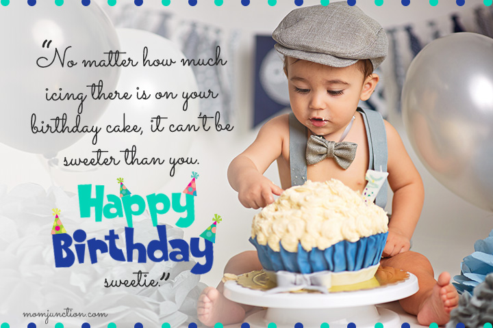 niece first birthday message ; First-Birthday-Wishes-For-A-Nephew