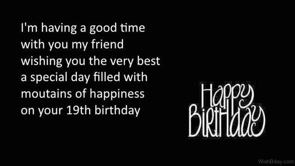 nineteenth birthday poem ; Wishing-You-The-very-Best-A-Special-Day-1