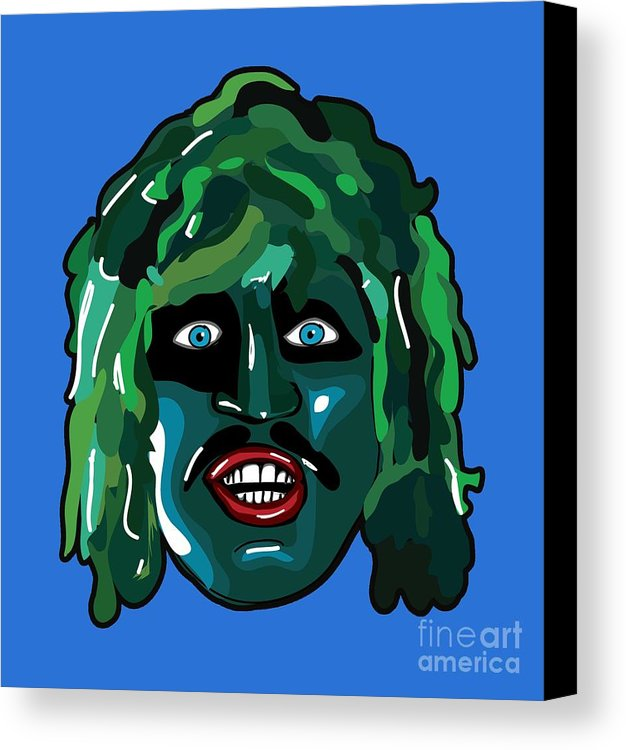 old gregg birthday card ; 1-the-mighty-boosh-tv-series-im-old-gregg-scaly-man-fish-bbc-comedy-paul-telling-canvas-print