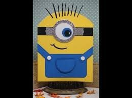 one in a minion birthday card ; 2968a829b2dcf737c1fb959e7761343c