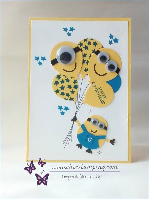 one in a minion birthday card ; 751-best-card-ideas-images-on-pinterest-of-minion-birthday-cards