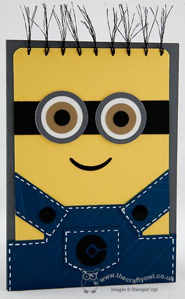 one in a minion birthday card ; 84588e1ed9b1dca50d4d38193f319390