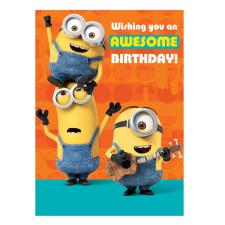 one in a minion birthday card ; SC198