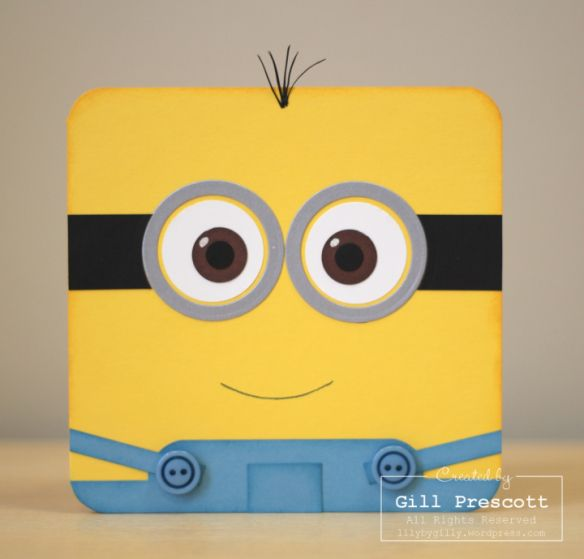 one in a minion birthday card ; c4923b2b669303ac8d92854eb7c2603c--minion-card-minions
