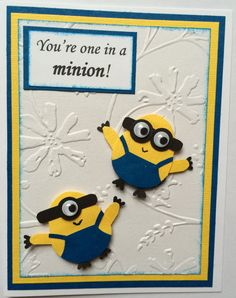 one in a minion birthday card ; d0bc046e5c3074042c5a3cef68ab2282