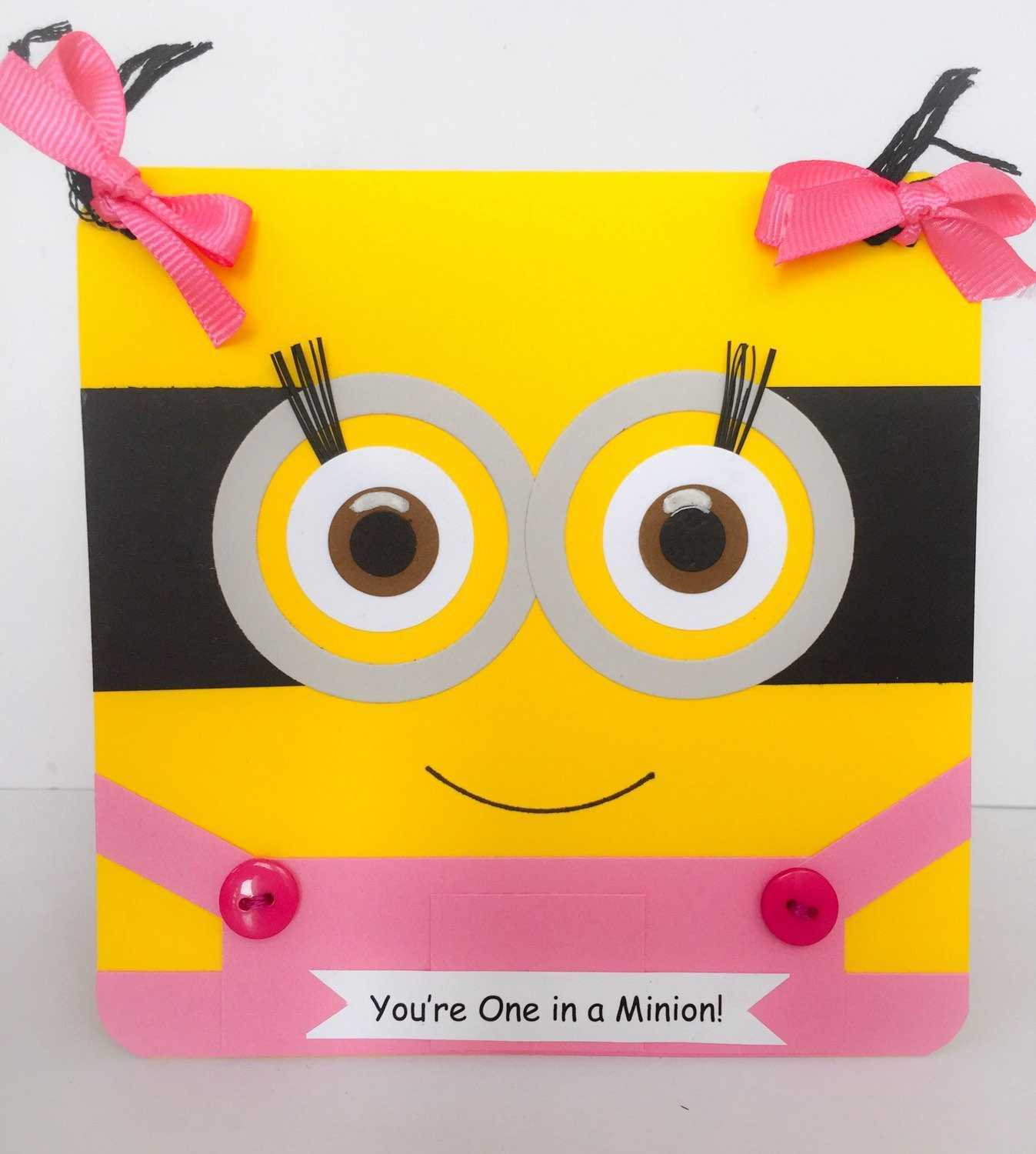 one in a minion birthday card ; minions-birthday-card-awesome-minion-birthday-card-gangcraft-of-minions-birthday-card
