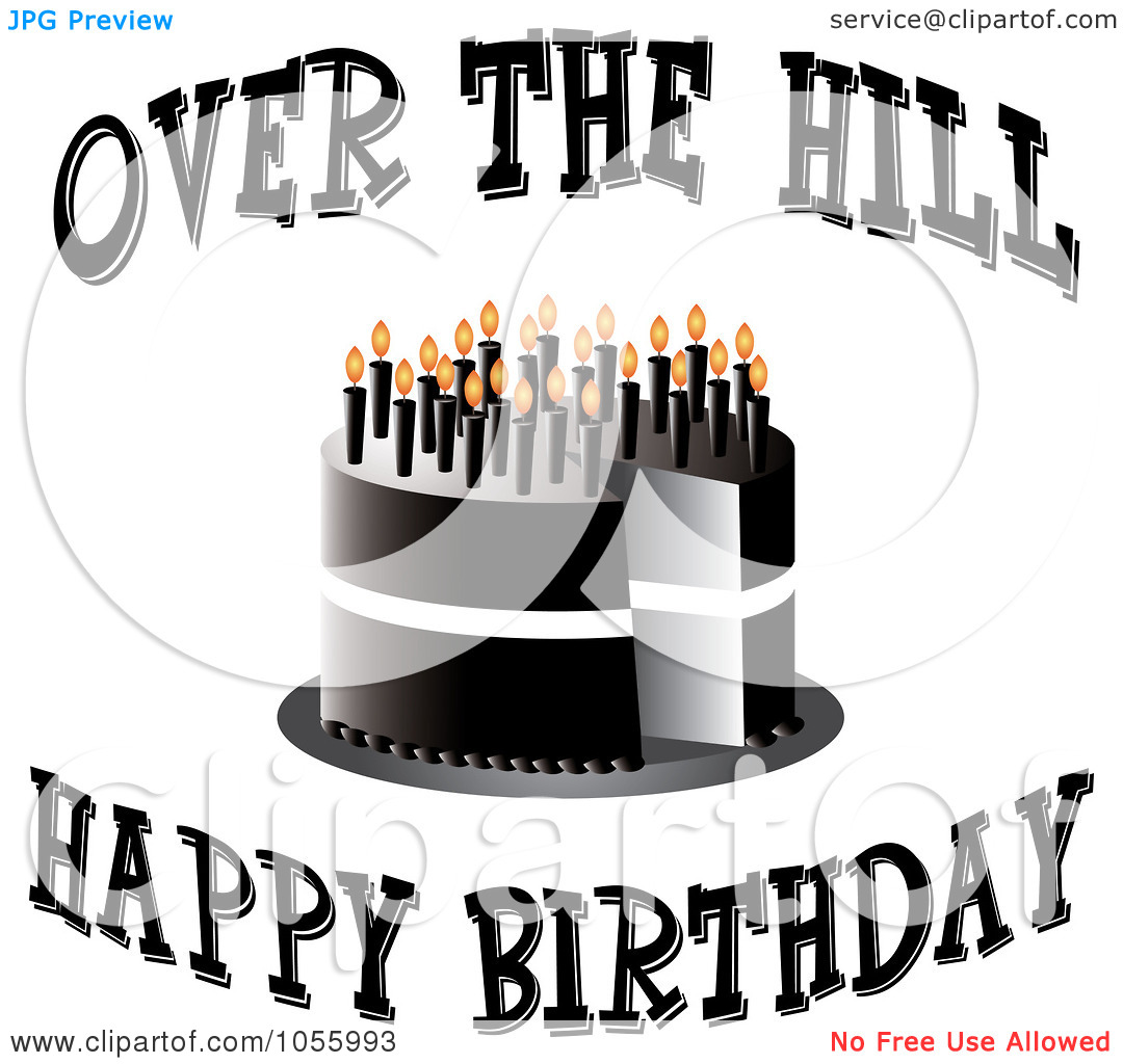 over the hill 50th birthday clip art ; birthday-over-the-hill-clipart-1