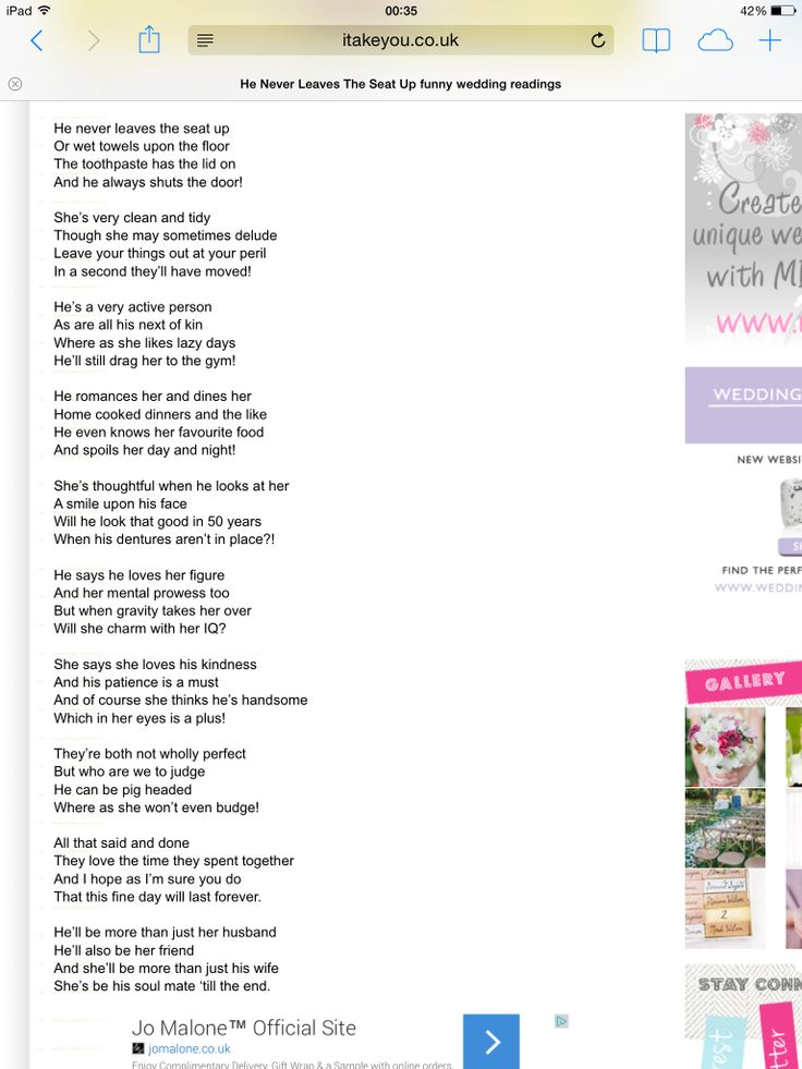 pam ayres birthday poem ; 62de42321c78c470c79bf556b522586f--wedding-poems-wedding-readings