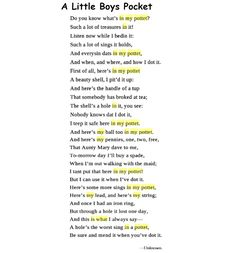 pam ayres birthday poem ; 8122125445f8a7ba65fe6b9f243353d0--a-child-remember-this