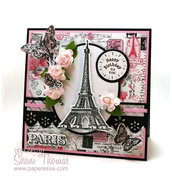 paris birthday card ; 260a05320f72451a7abf1cc6eb3ca576