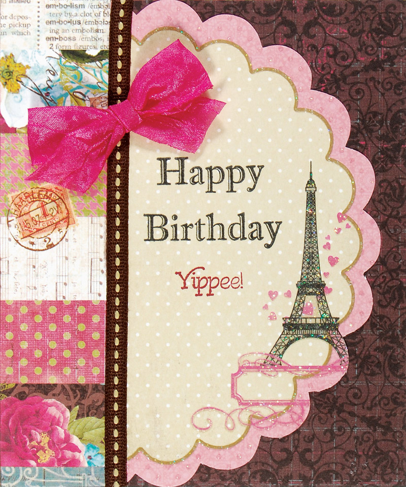 paris birthday card ; 4103395_0