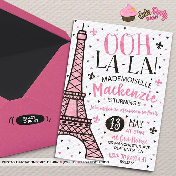 paris birthday party invitation templates ; paris-birthday-invitations-for-Birthday-Invitation-Template-based-business-work-in-design-of-winsome-invitation-30