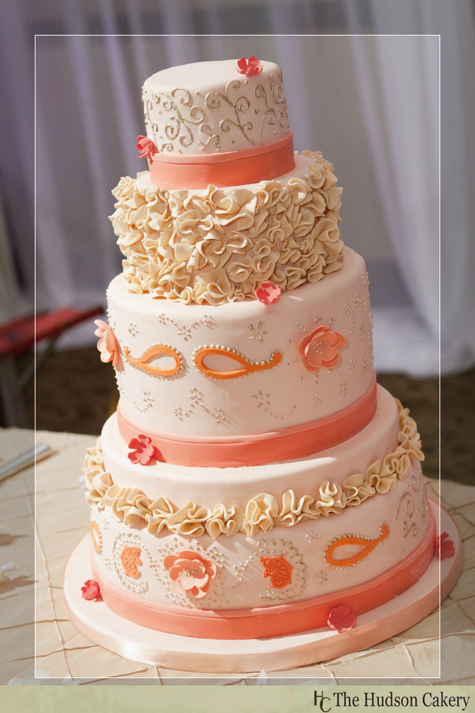peach color birthday cake ; peach-color-birthday-cake-peach-and-silver-wedding-cake-mint-green-and-peach-wedding-decorations-peach-wedding-cakes-pictures
