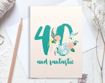 personalised 40th birthday card for daughter ; 40th-birthday-card-new-personalised-40th-birthday-card-personalised-39-plus-1-of-40th-birthday-card
