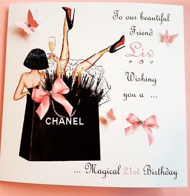 personalised 40th birthday card for daughter ; HANDMADE-BIRTHDAY-CARD-PERSONALISED-16TH-21ST-40th-DAUGHTER