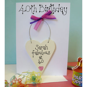 personalised 40th birthday card for daughter ; preview_personalised-40th-birthday-card