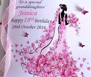 personalised 40th birthday card for daughter ; s-l300-1