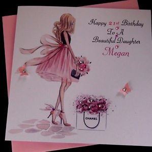 personalised 40th birthday card for daughter ; s-l300-4