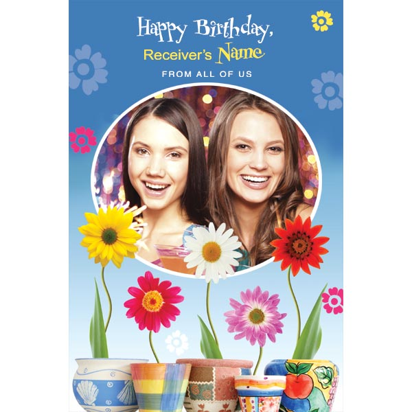 personalised bday cards ; 3913