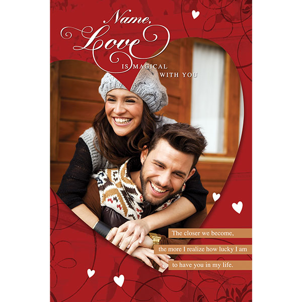 personalised bday cards ; Love_Is_Magical_Personalised_Greeting_Card_GRLOVCARD037_a8252ff3