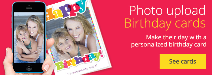 personalised birthday greeting cards ; customised-birthday-greetings-card-invitation-design-ideas-custom-printed-birthday-cards-pink
