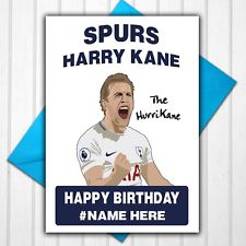 personalised spurs birthday card ; s-l225-1