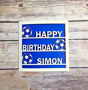 personalised spurs birthday card ; s-l300-4
