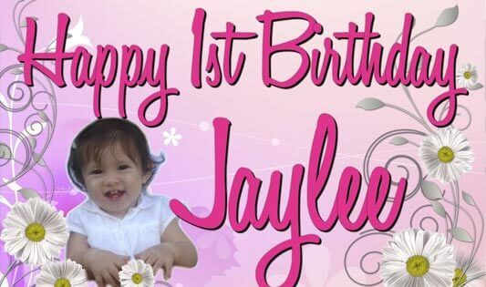personalized birthday banners for 1st birthday ; dbe1342a1dc73aaa8a1fe4e819f98bc5