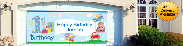 personalized birthday banners for 1st birthday ; link_PBAN_PBANSPEBA_590_pl