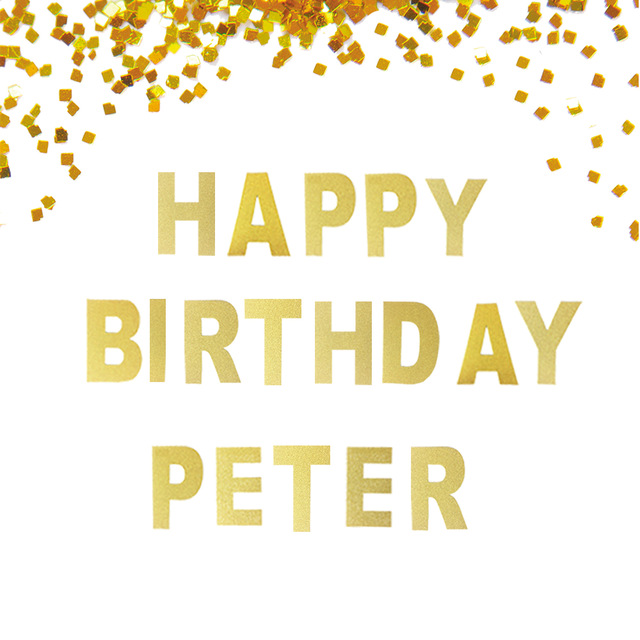 personalized happy birthday banner ; Personalized-Birthday-Banner-Happy-Birthday-Peter-Custom-Glitter-Gold-Birthday-Banner-with-Name-Name-within-15