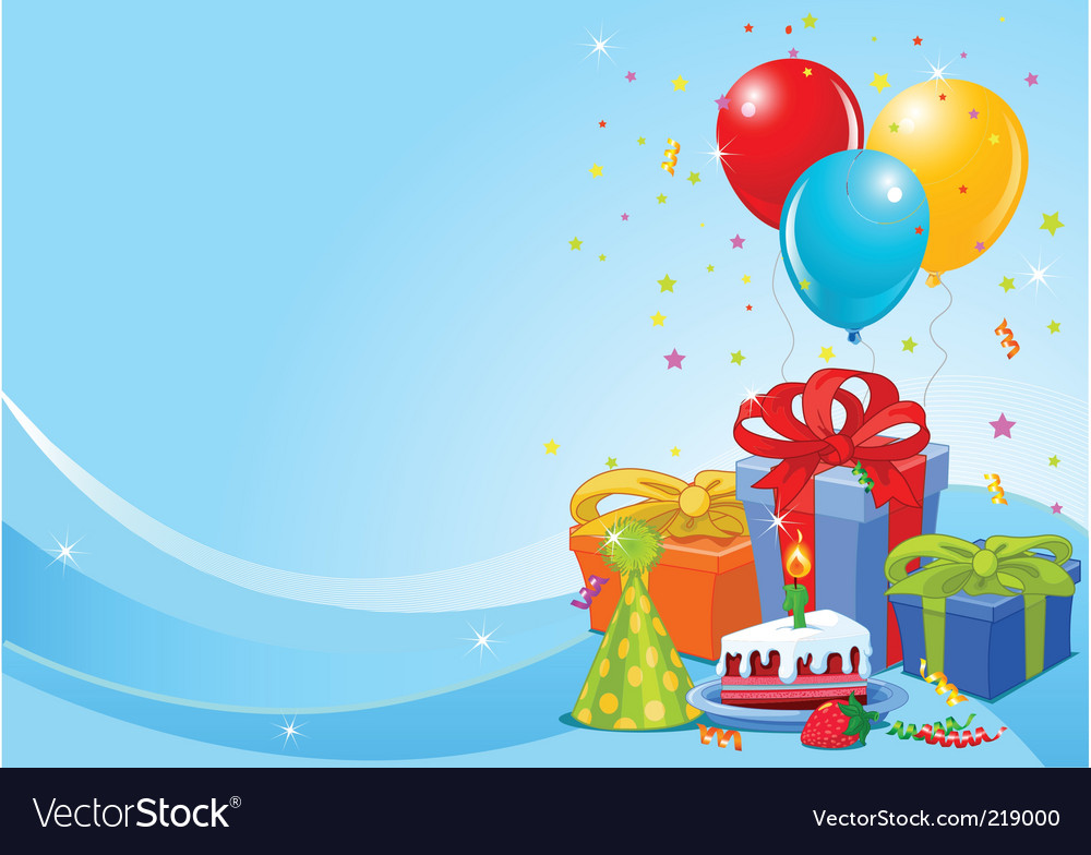 photo background for birthday ; birthday-party-background-vector-219000