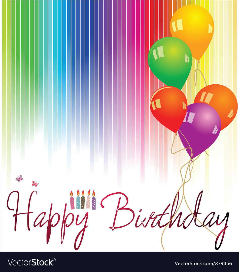 photo background for birthday ; happy-birthday-background-vector-879456