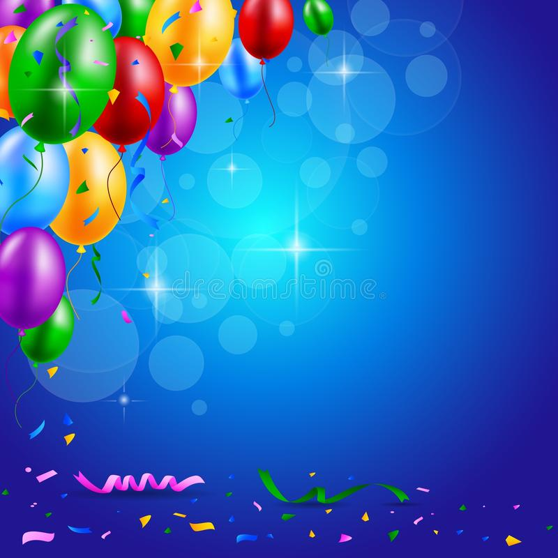 photo background for birthday ; happy-birthday-party-balloons-ribbons-background-illustration-54514466