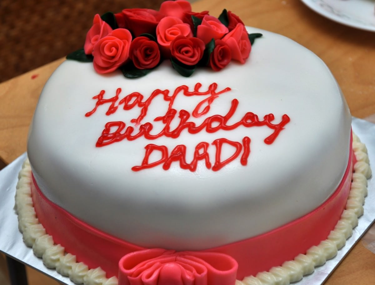 photo birthday cake designs ; birthday-cake-designs-round-white-red-rose-and-ribbon-ornament-and-personalize-name-fascinating-birthday-cake-design-with-roses