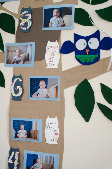 picture collage ideas for birthday party ; first-year-picture-collagex43781