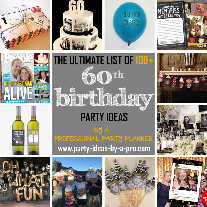 picture collage ideas for birthday party ; x60thbirthdaypartyideas